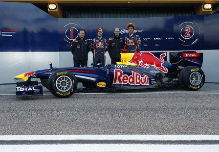 Презентация болида Red Bull RB7