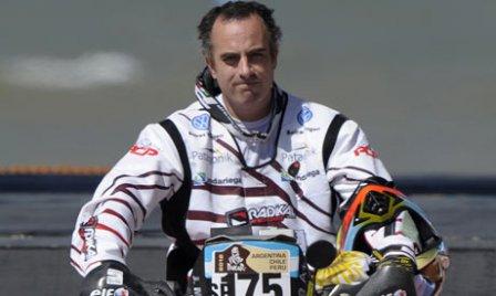 Аргентинский мотогонщик Хорхе Мартинес