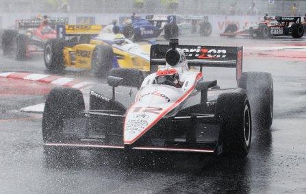 Уилл Пауэр в гонке в Сан-Паулу 2011