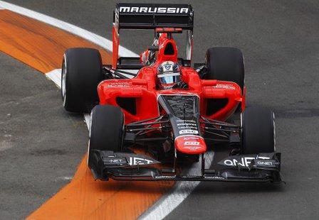 Тимо Глок на Гран При Европы 2012