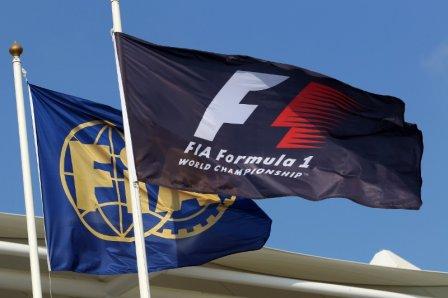 Флаги Формулы 1 и ФИА