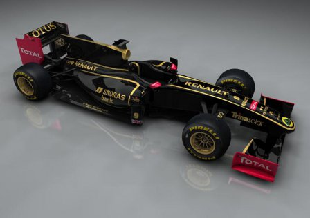Болид команды Lotus Renault GP