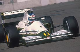 Мика Хаккинен на ГП США 1991