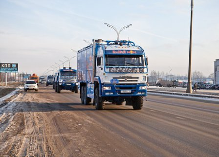 Команда КАМАЗ-Мастер отправилась на Дакар-2012