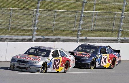 Скотт Спид и Кейси Кейн, команда NASCAR Red Bull