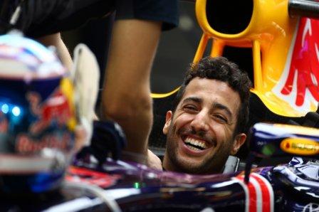 Даниэль Риккьярдо, свободные заезды на Гран При Абу-Даби 2015
