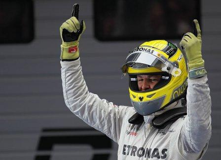Нико Росберг - победитель Гран При Китая 2012
