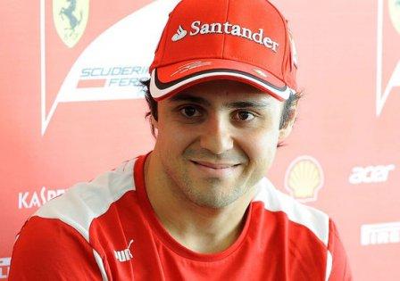 Фелипе Масса на заводе Ferrari в Маранелло