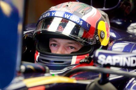 Даниил Квят на Гран При Испании 2016