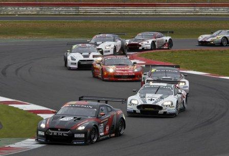 Гонка серии FIA GT1 в Сильверстоуне 2011