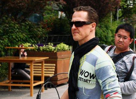 Михаэль Шумахер на Гран При Китая 2012