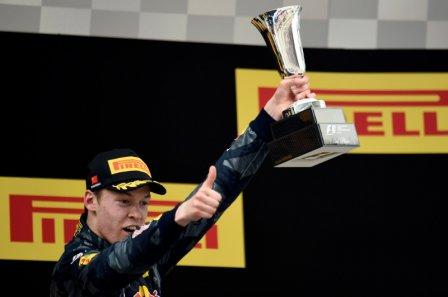 Даниил Квят, третье место на Гран При Китая 2016