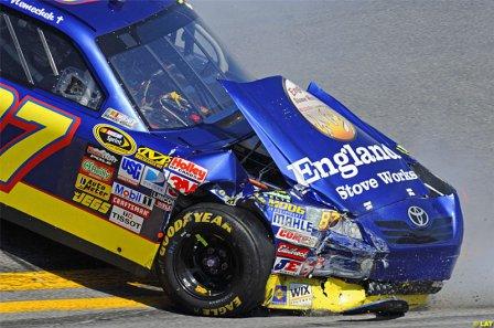 Реган Смит в гонке Дайтона 500 2010