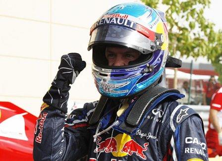 Себастьян Феттел, победитель Гран При Бахрейна 2012