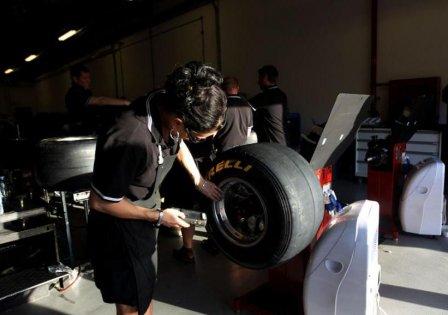Испытания шин Pirelli