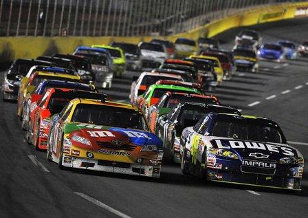 NASCAR Sprint Cup, гонка в Шарлотте 2010