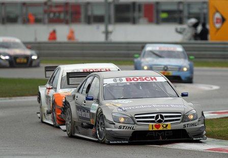 Бруно Спенглер, гонка в Адрии 2010