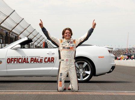 Дэн Уэлдон - победитель гонки Инди-500 2011