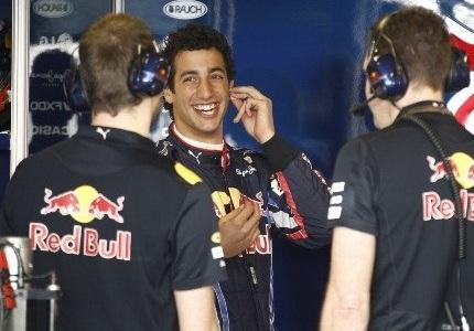Даниэль Риккардо на тестах Toro Rosso в Абу-Даби 2010