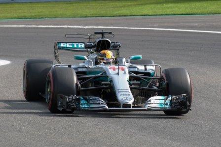 Льюис Хэмилтон на Гран При Венгрии 2017