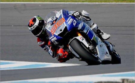 Хорхе Лоренцо на Гран При Австралии 2013