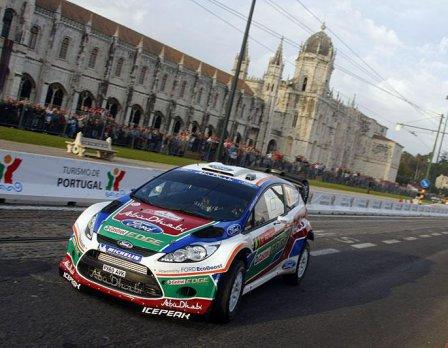 Яри-Матти Латвала на Ралли Португалии 2011