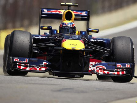 Марк Уэббер на Гран При Бразилии 2011