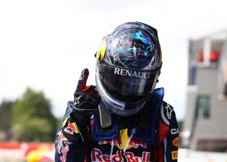 Себастьян Феттель - победа в гонке на Гран При Бельгии 2011