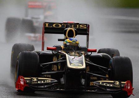 Бруно Сенна на Гран При Бельгии 2011