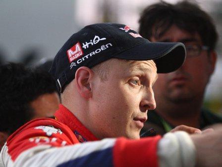 Микко Хирвонен, Citroen, WRC 2012