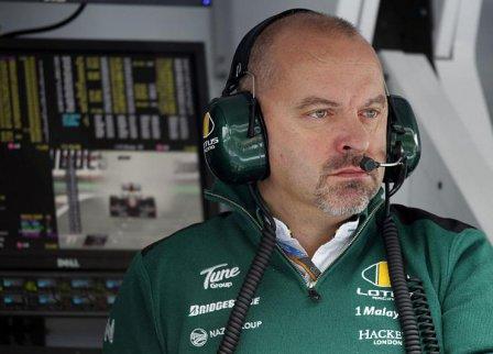 Майк Гаскойн на Гран При Бельгии 2010