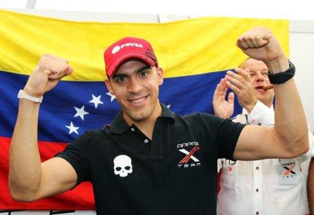 Пастор Мальдонадо - чемпион GP2 в 2010-м году