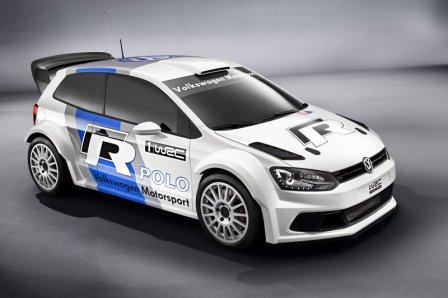 Автомобиль Volkswagen Polo R WRC 2013