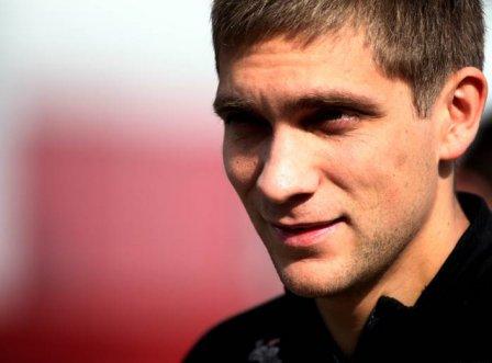 Виталий Петров, портрет на Гран При Испании 2011