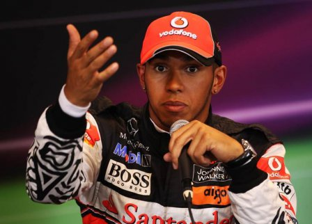 Льюис Хэмилтон, пресс-конференция после квалификации на Гран При Бельгии 2011