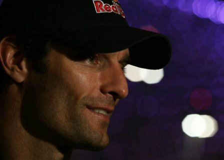 Марк Уэббер после квалификации на Гран При Абу-Даби