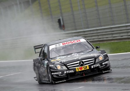 Гэри Паффет в гонке в Шпильберге 2011