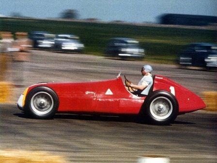 Хуан Мануэль Фанхио на Гран При Великобритании 1950