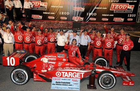 Чемпион Дарио Франкитти и команда Chip Ganassi Racing