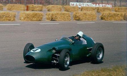 Рой Салвадори в Гран При Голландии 1959