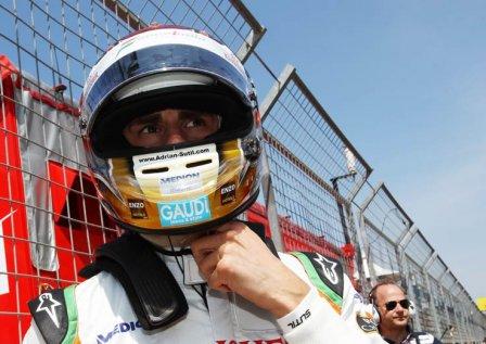 Адриан Сутил, Гран При Турции 2011
