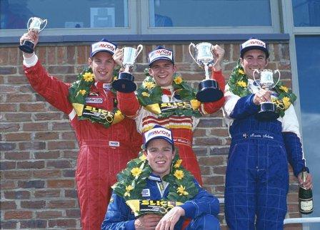 Дженсон Баттон и Дэн Уэлдон, британская Формула Ford 1998