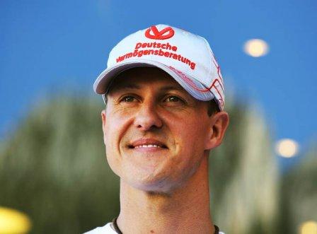 Михаэль Шумахер, портрет на Гран При Монако 2011