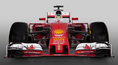 Презентация автомобиля Ferrari 2016