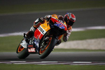 Кейси Стоунер на Гран При Катара 2011