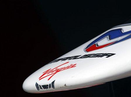Носовой обтекатель болида MVR-02 Marussia Virgin Racing 2011