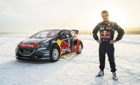 Себатьян Лёб в составе команды Peugeot чемпионата мира по ралли-кроссу 2016