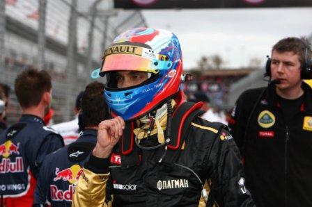 Виталий Петров, Lotus Renault GP, Гран При Австралии 2011