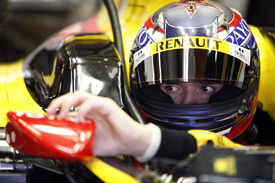 Михаил Алёшин. Тесты Renault R30