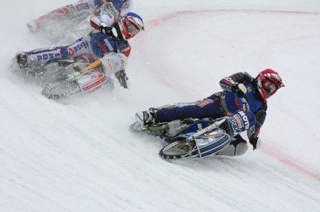 Этап чемпионата мира по мотогонкам на льду
